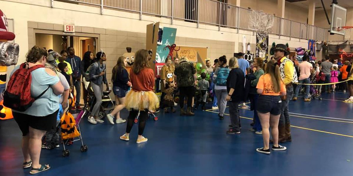 Hundreds of ghosts and goblins 'Trunk or Treat' at MGCCC