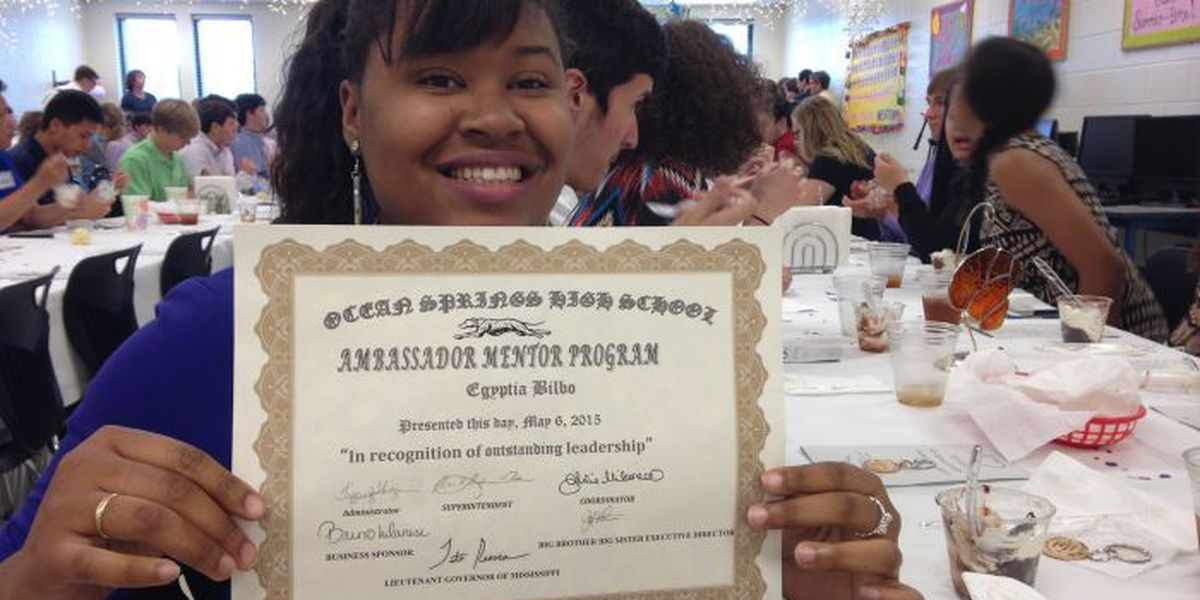 OSHS seniors honored for helping children with challenges