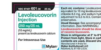 Injection used in combination chemotherapy recalled, possible copper salt presence