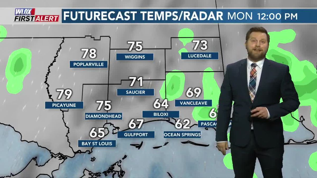 Patchy fog Monday morning, big warm-up this week