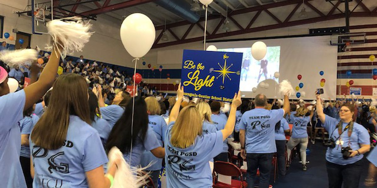 'Be the Light': PGSD teachers kick off the school year with convocation