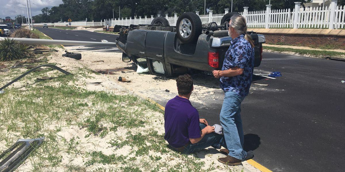 Biloxi police evaluating wreck aftermath