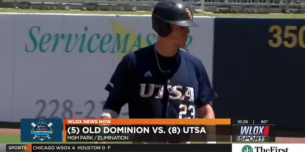 UTSA outlast Old Dominion's late comeback to advance