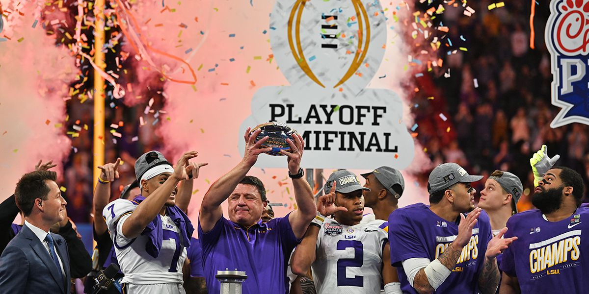 LSU defeats Oklahoma, 63-28 in CFP Semifinal; will now face Clemson