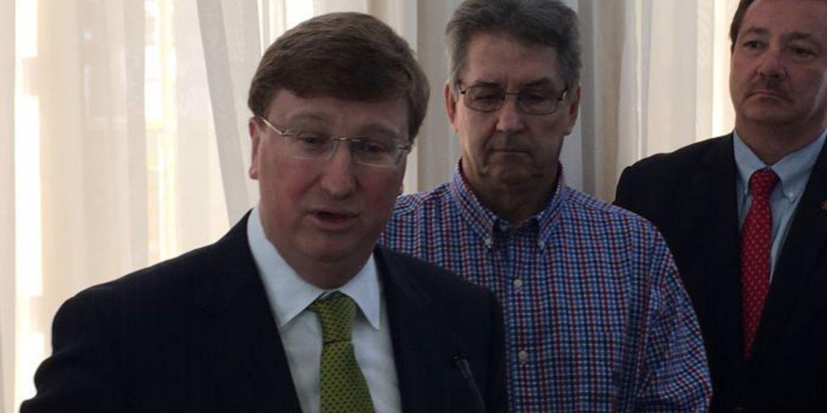 Lt. Gov. Tate Reeves talks BP money with coast legislators