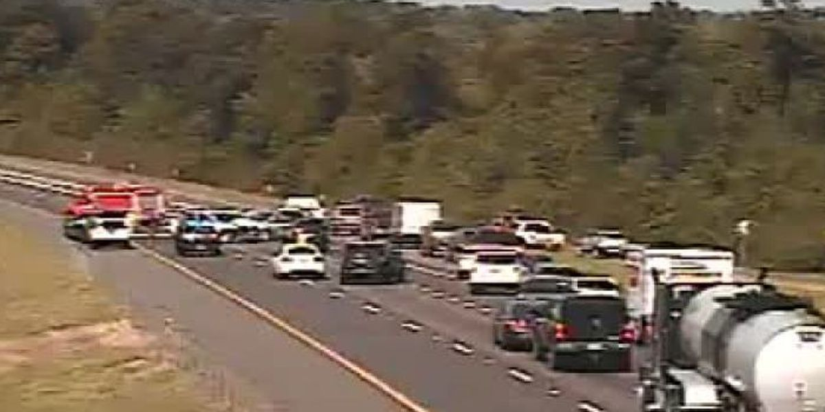 I-10 westbound all clear in Harrison Co.