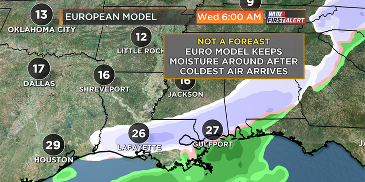 "More bitter-cold on the way; models ""flaky"" on snow chances"