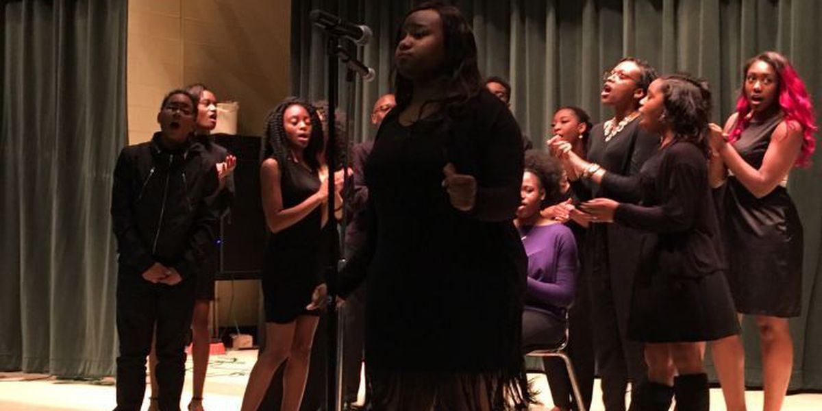 West Harrison HS presents its first Black History Month program