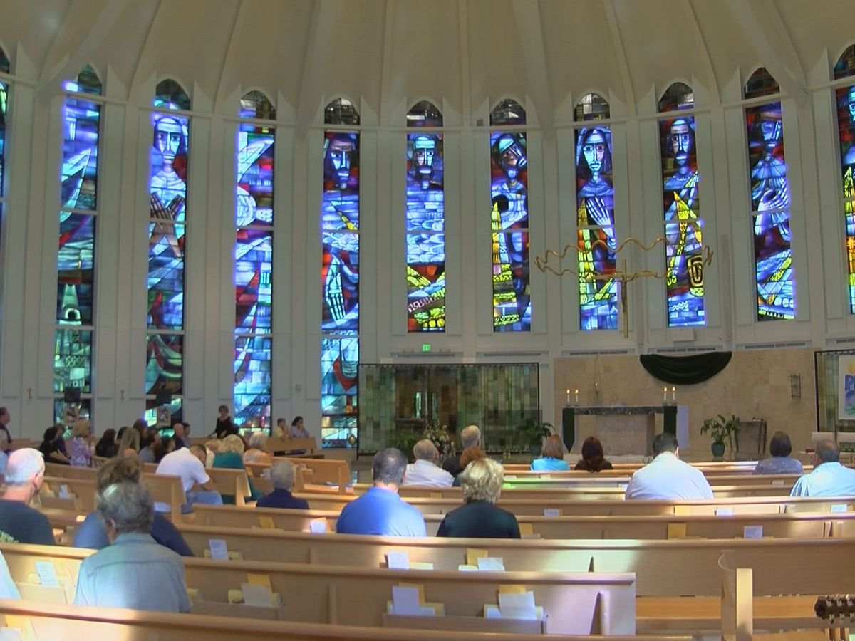 No stranger to disaster, Biloxi church prays for victims of Hurricane Michael