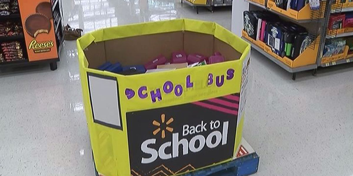 'Fill the Bus' School supply drive underway across South Mississippi