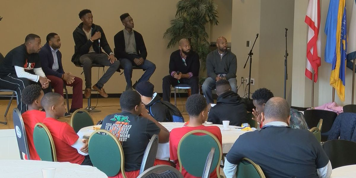MLK event centers on uplifting young black men