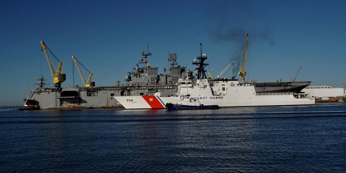 Ingalls delivers 7th national security cutter to the Coast Guard
