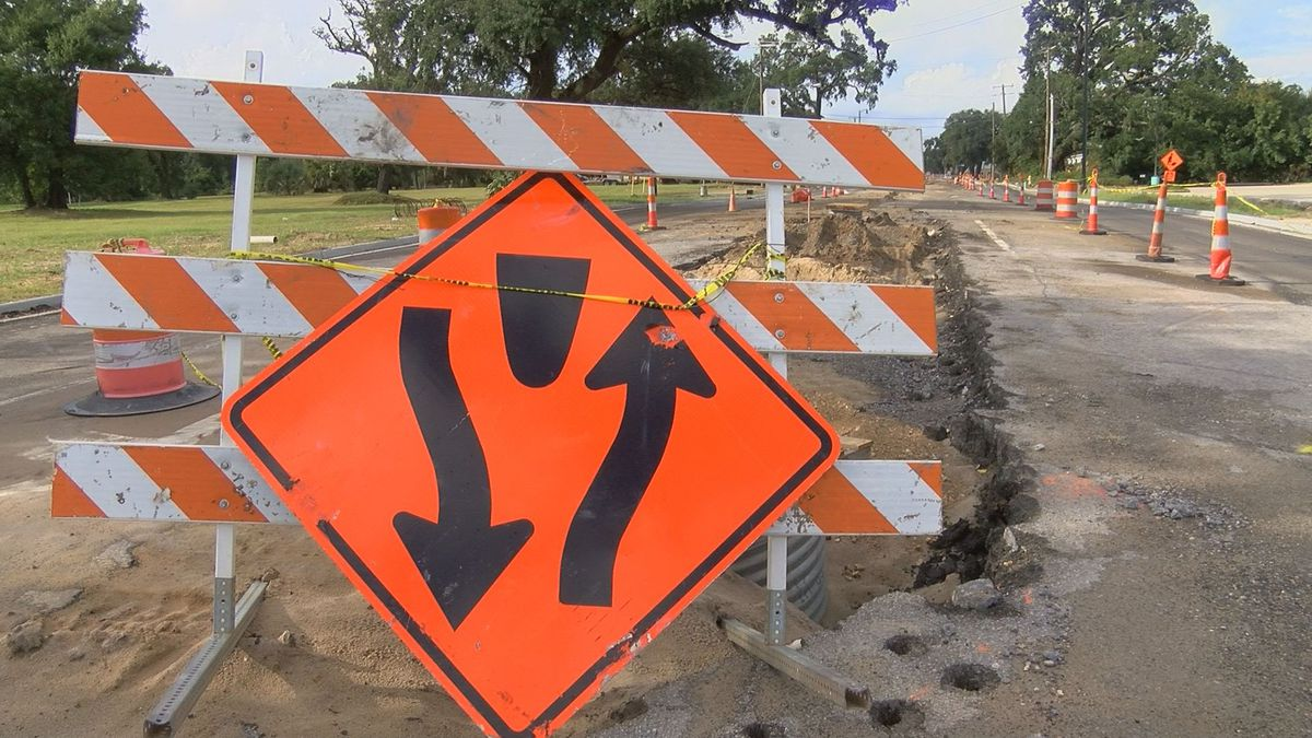 Courthouse Road construction behind schedule