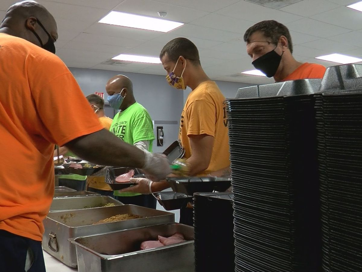 2020 Feed the Needy event has different look; same results