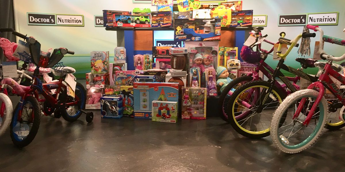 Tradition homeowners donate toys for coast kids