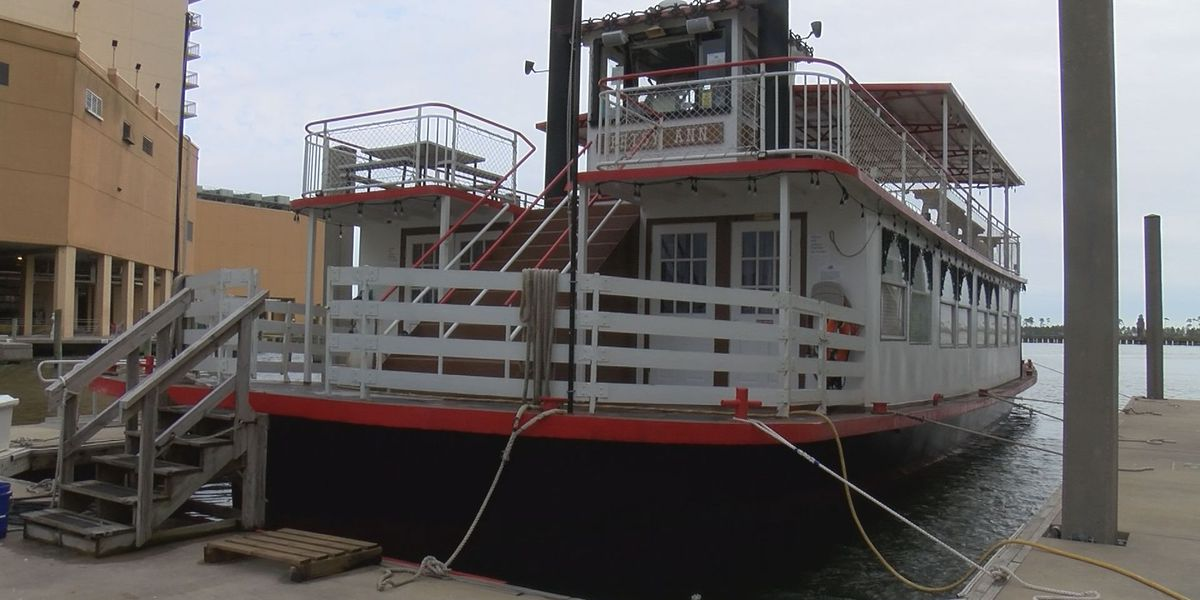 'I'm excited to get the boat out': Betsy Ann Riverboat ready to sail this week