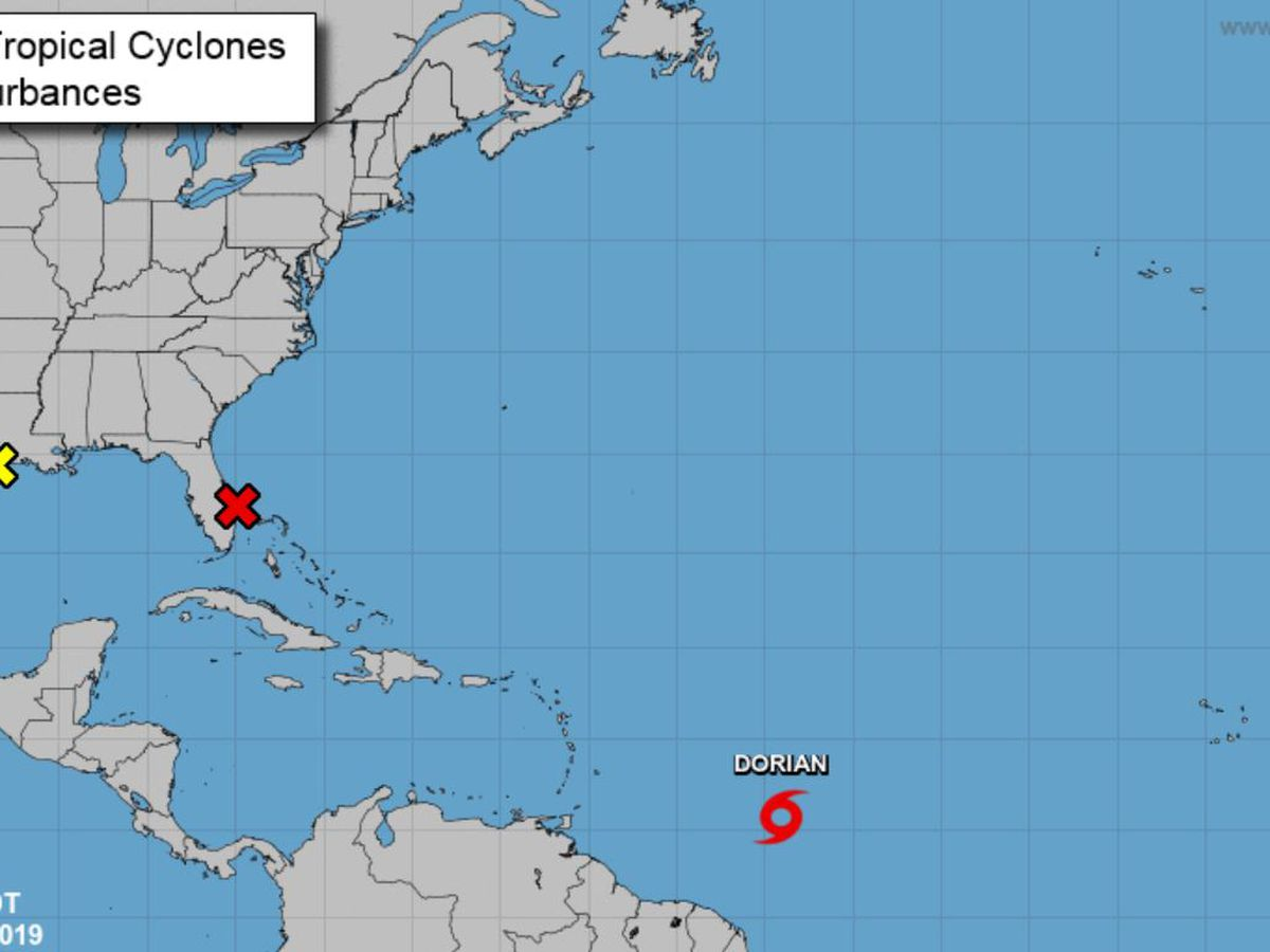 Tropical Storm Dorian forms in Atlantic, likely to grow
