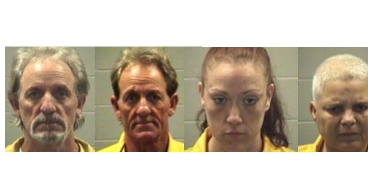 Four arrested for rash of Vancleave burglaries