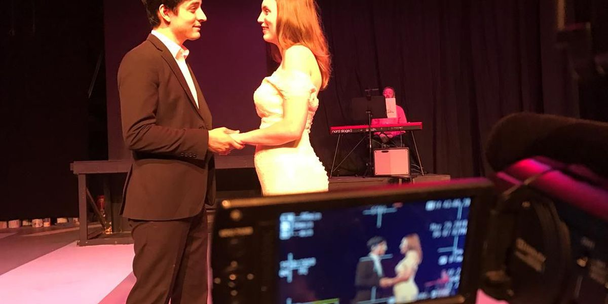 Real life newlyweds bring new life to a complex love story on stage