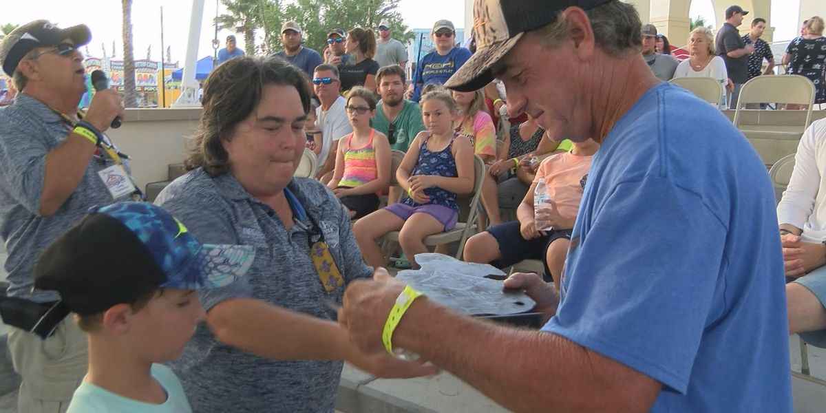 Several walk away winners at annual Deep Sea Fishing Rodeo