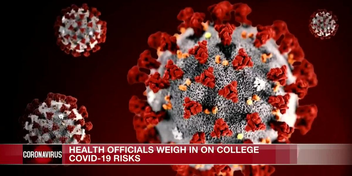 Health officials weigh in on college COVID-19 risks