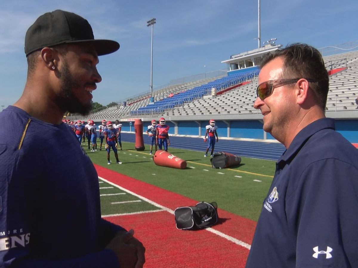 Smith reflects on journey from Pascagoula to the NFL