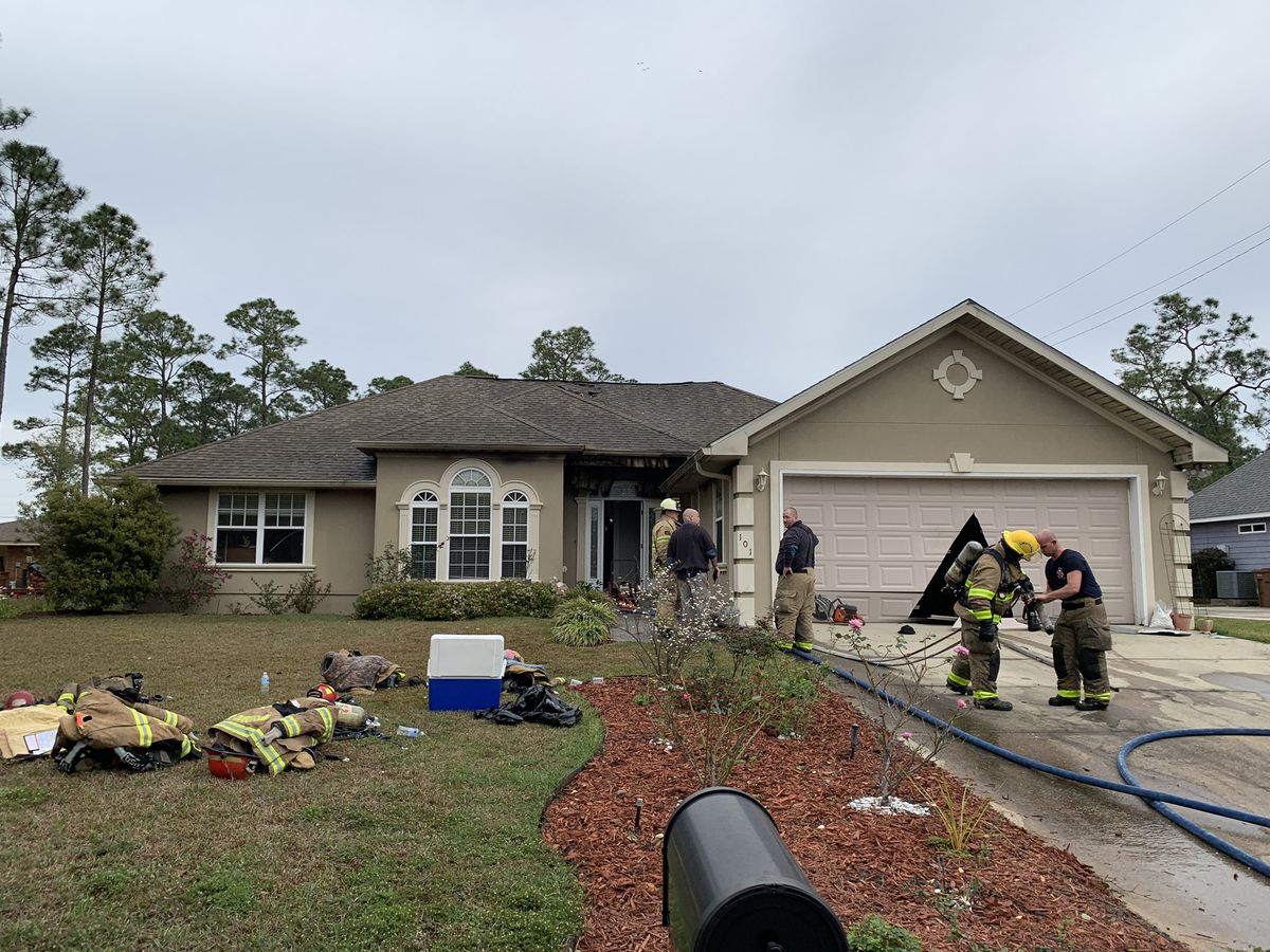 Pass Christian home on Henderson Point catches fire