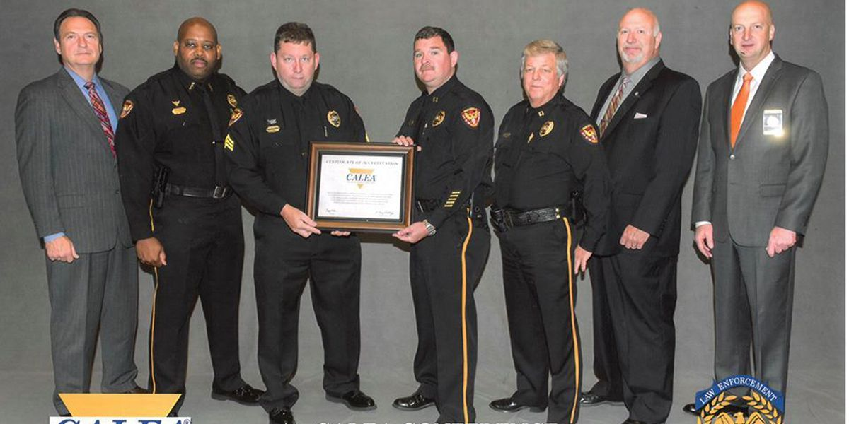 Pascagoula Police Department receives nationwide accreditation