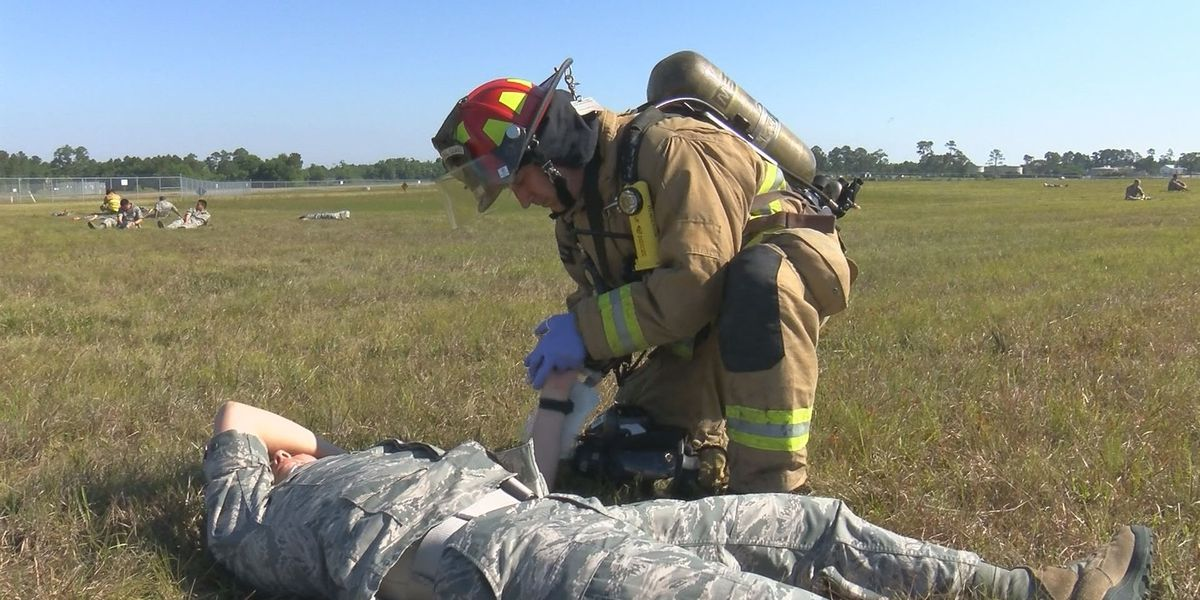 Disaster drill at airport hones first responder training
