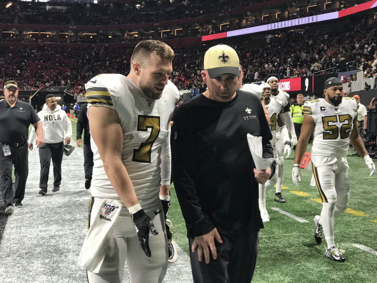 Saints ride early momentum to defeat Falcons on Thanksgiving