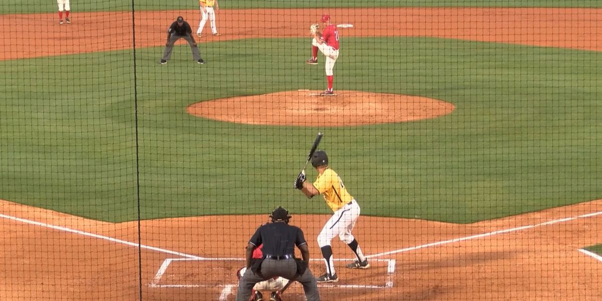 Southern Miss out slugged Nicholls State 16-8 Tuesday night at MGM Park