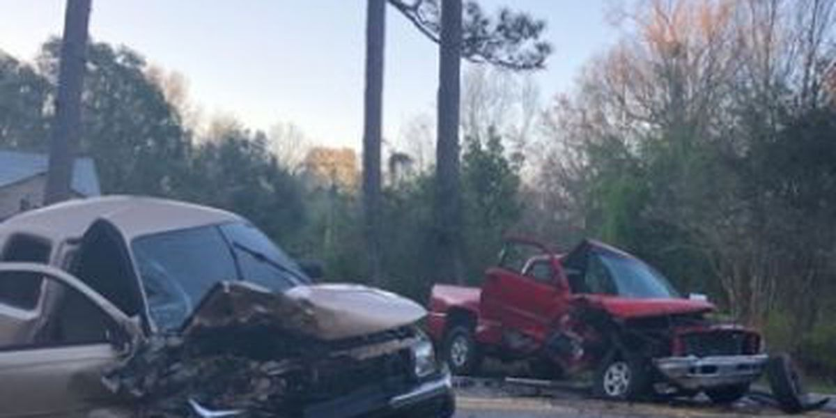 Head-on collision in Jackson County leaves one injured