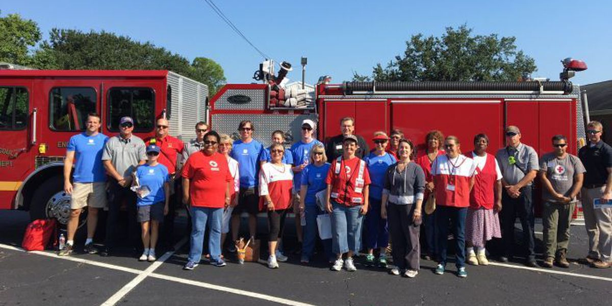 Chevron, Red Cross team up with Pascagoula firefighters to promote fire safety