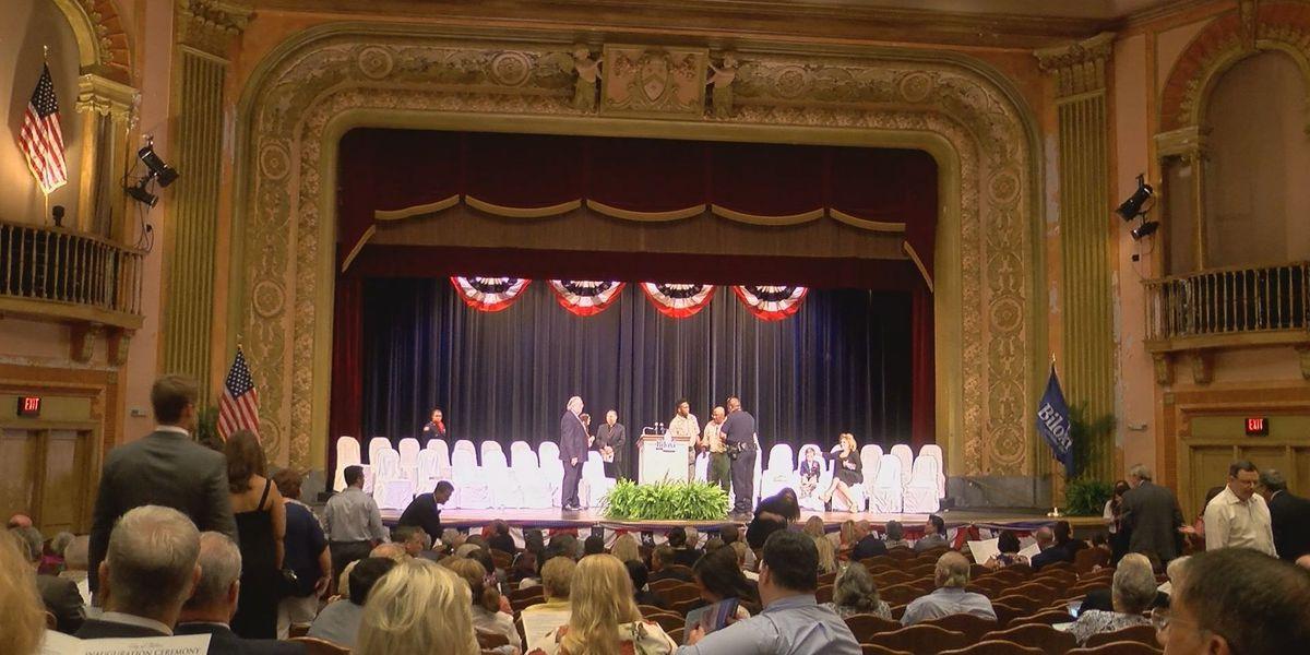 Biloxi inauguration held at historic Saenger Theatre