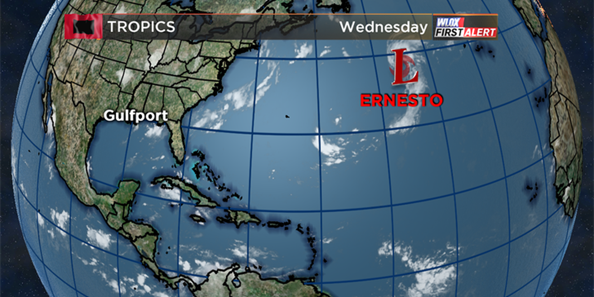 Subtropical depression strengthens into Subtropical Storm Ernesto