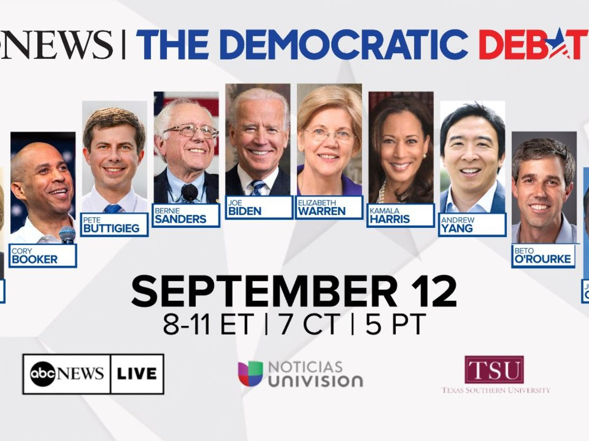 WATCH LIVE at 7pm: The Democratic Presidential Debate hosted by ABC News and Univision