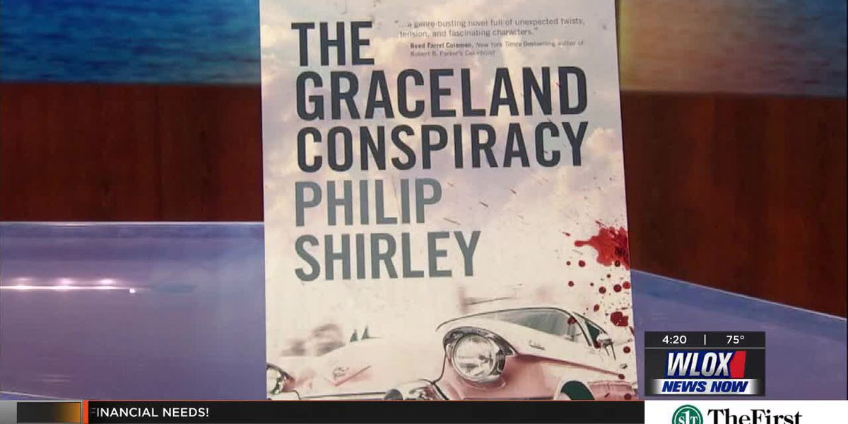"""Meet the Author - Philip Shirley with """"The Graceland Conspiracy"""""""