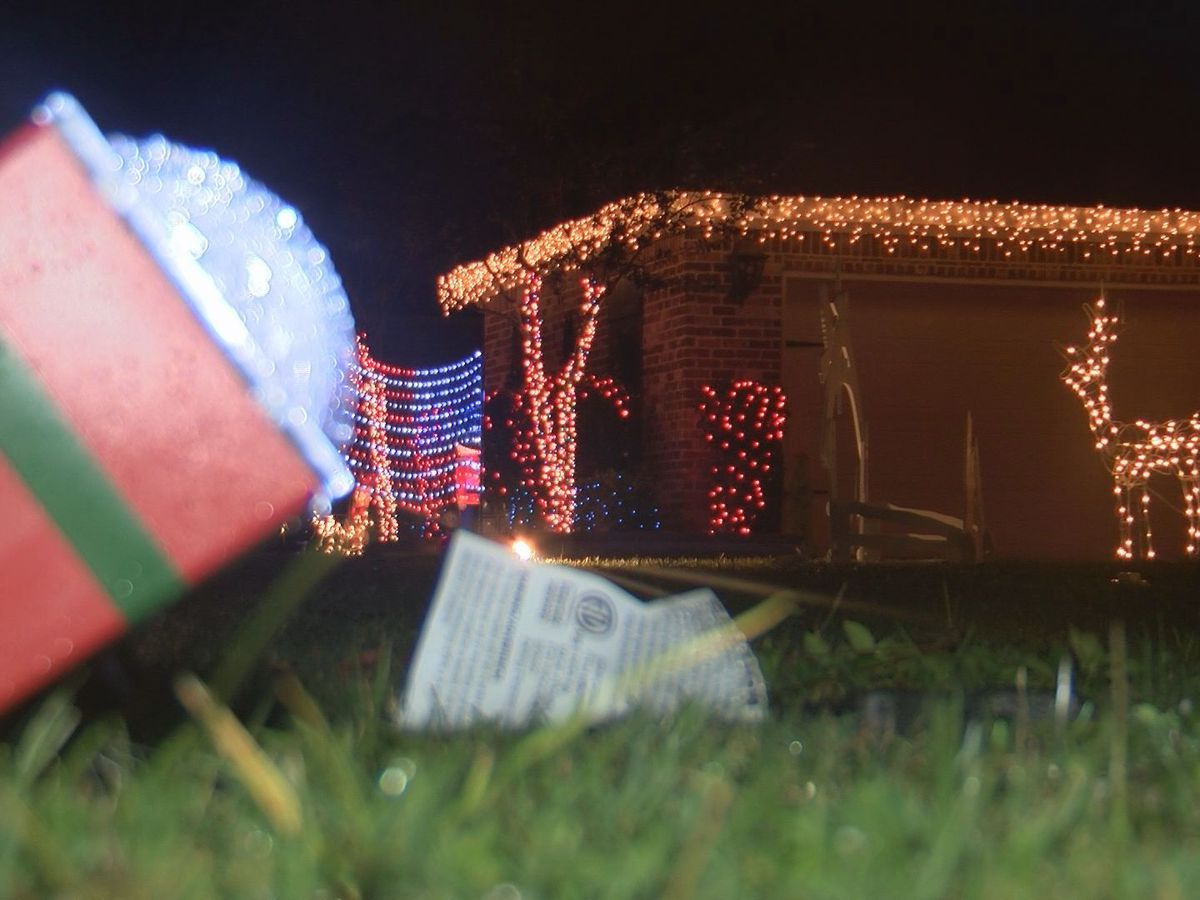 Christmas trees, lights go up all across South Mississippi