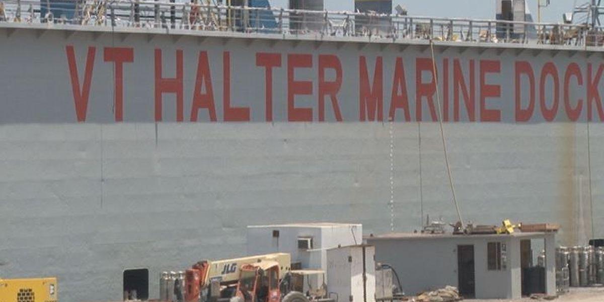 Pascagoula shipyard wins $745 million contract from U.S. Coast Guard