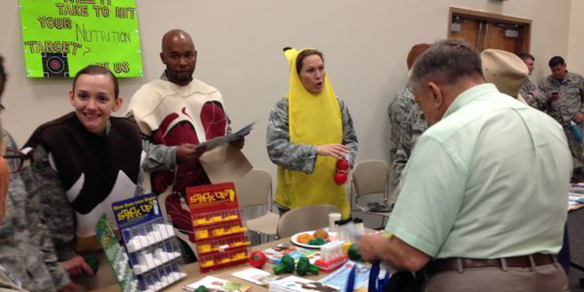 Keesler says 'thanks' to military retirees