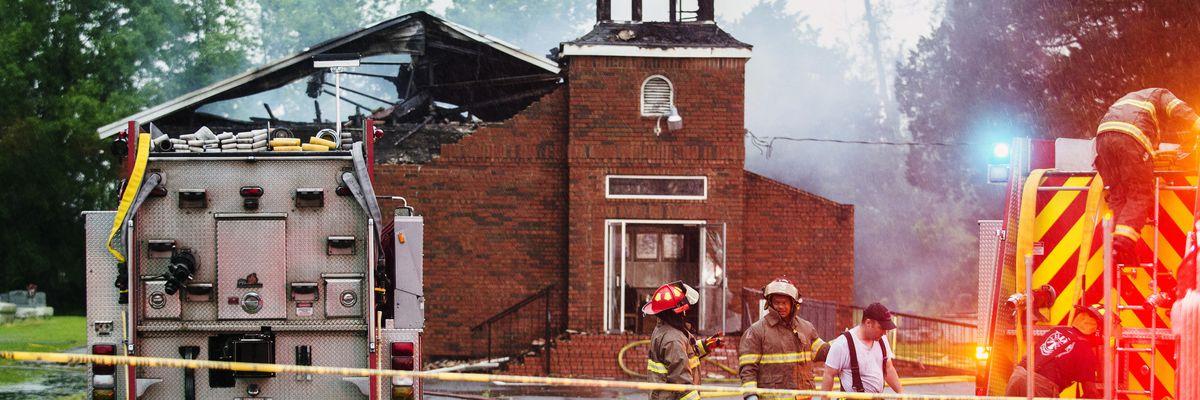 Pastors of burned Louisiana churches discuss forgiveness and rebuilding
