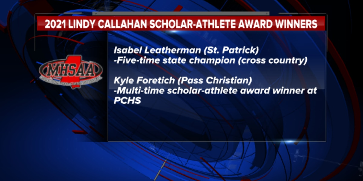 Isabel Leatherman, Kyle Foretich win Lindy Callahan Scholar-Athlete award