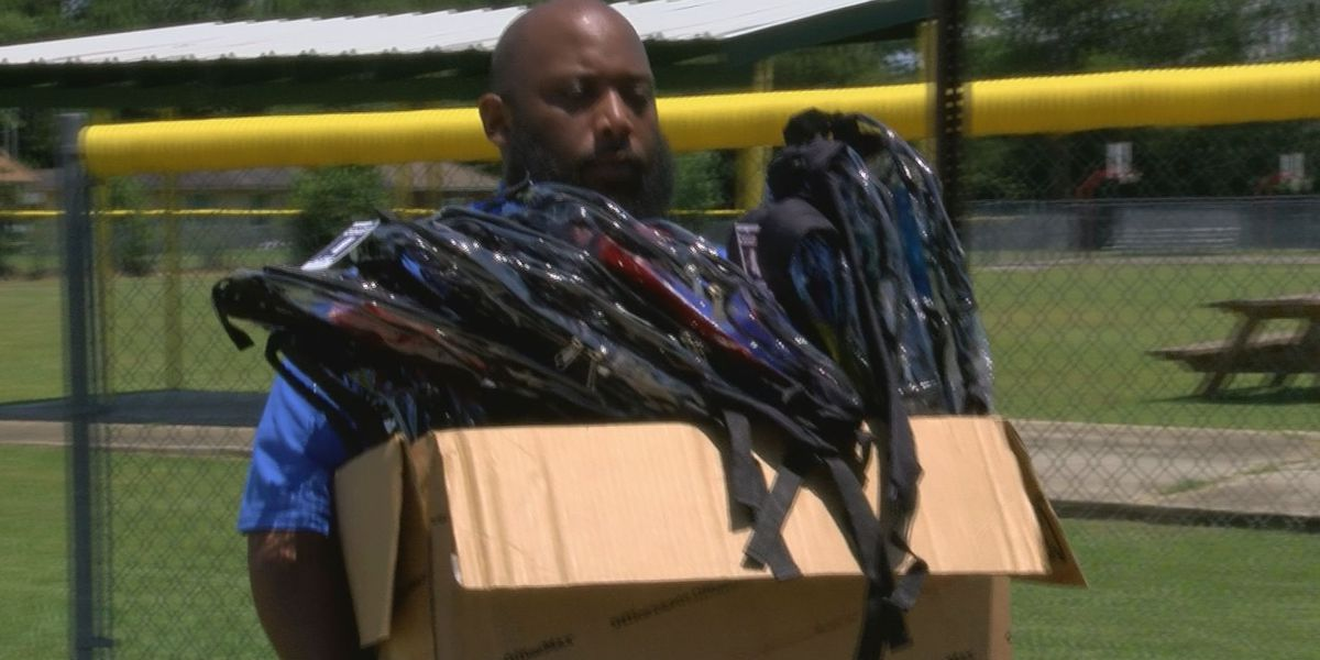 Gulfport man to donate school supplies to community where he grew up