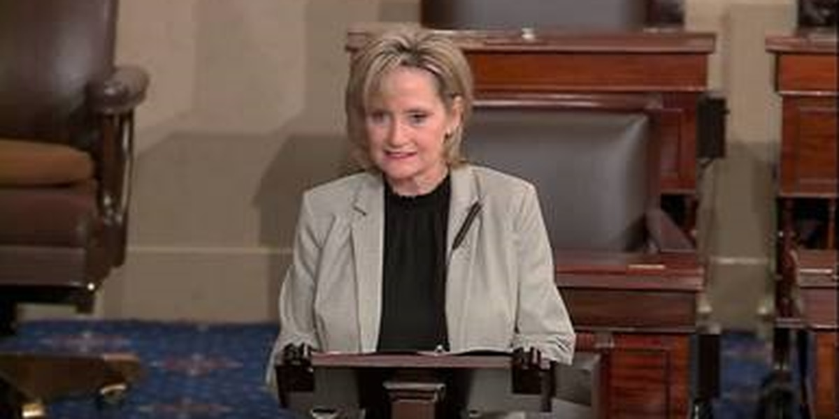 Sen. Hyde-Smith honors fallen officers on Senate floor