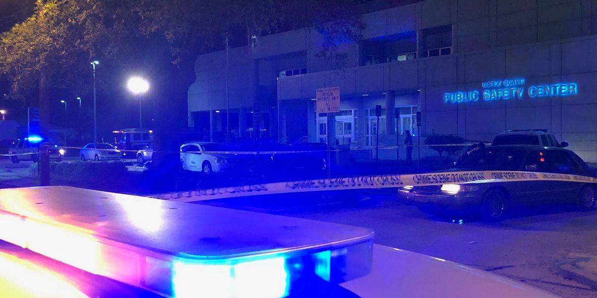 Biloxi officer shot outside public safety complex