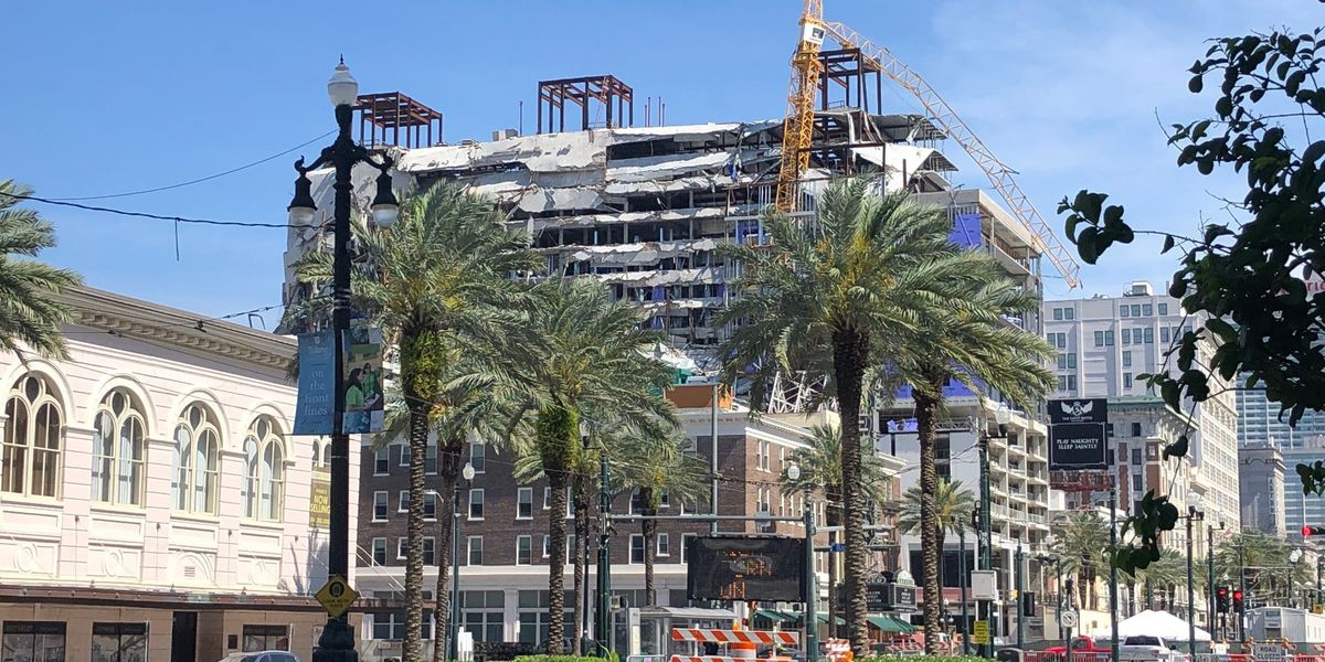 City of New Orleans issues permit to Hard Rock owners to begin demolition
