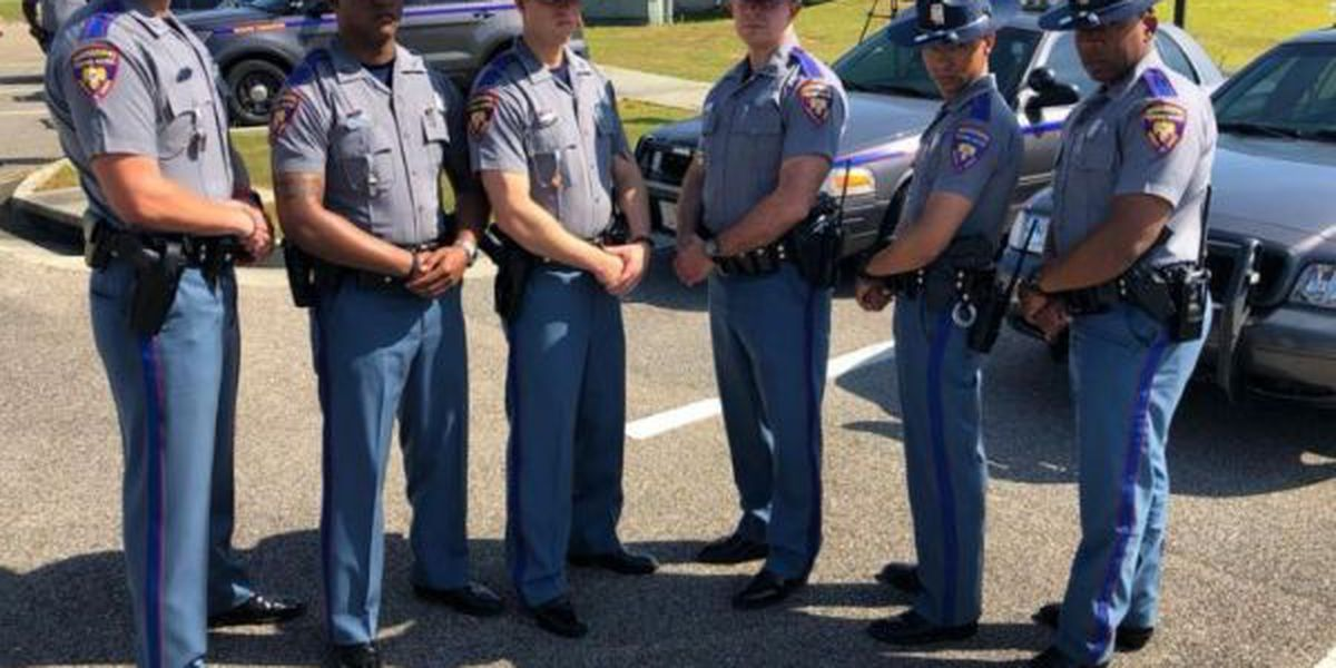 New troopers joining highway patrol in South Mississippi