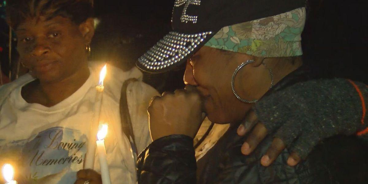 Emotional candlelight vigil honors Gautier shooting victim