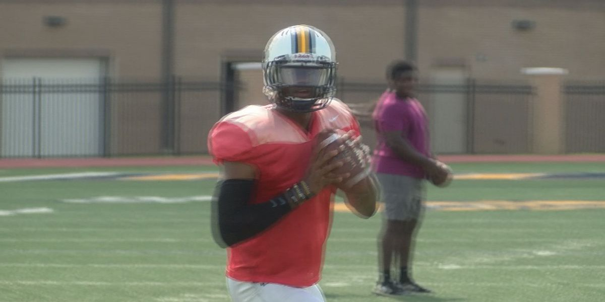 Torrance Gibson back at quarterback, back to work with MGCCC