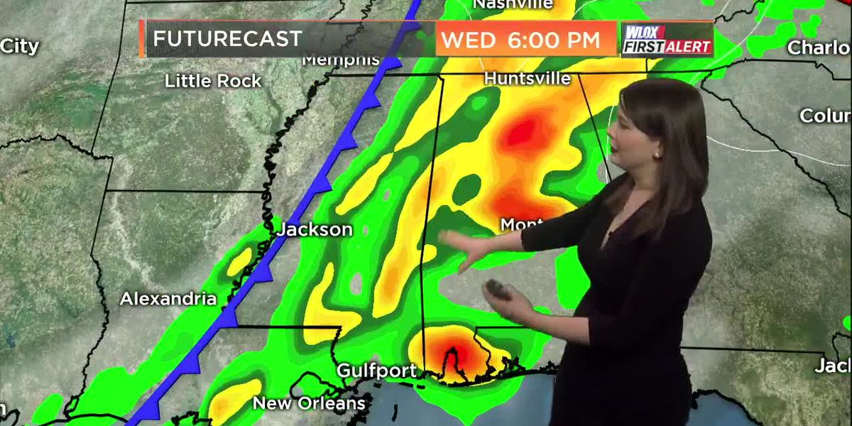 Taylor's Monday 5 PM First Alert Forecast